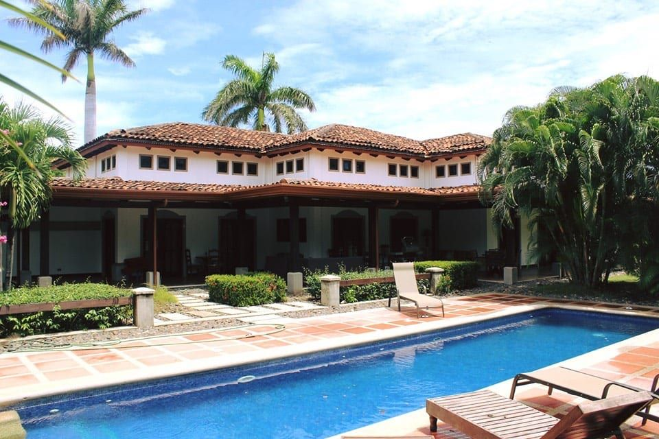 Elegant Spanish Colonial Home in Beachfront Community