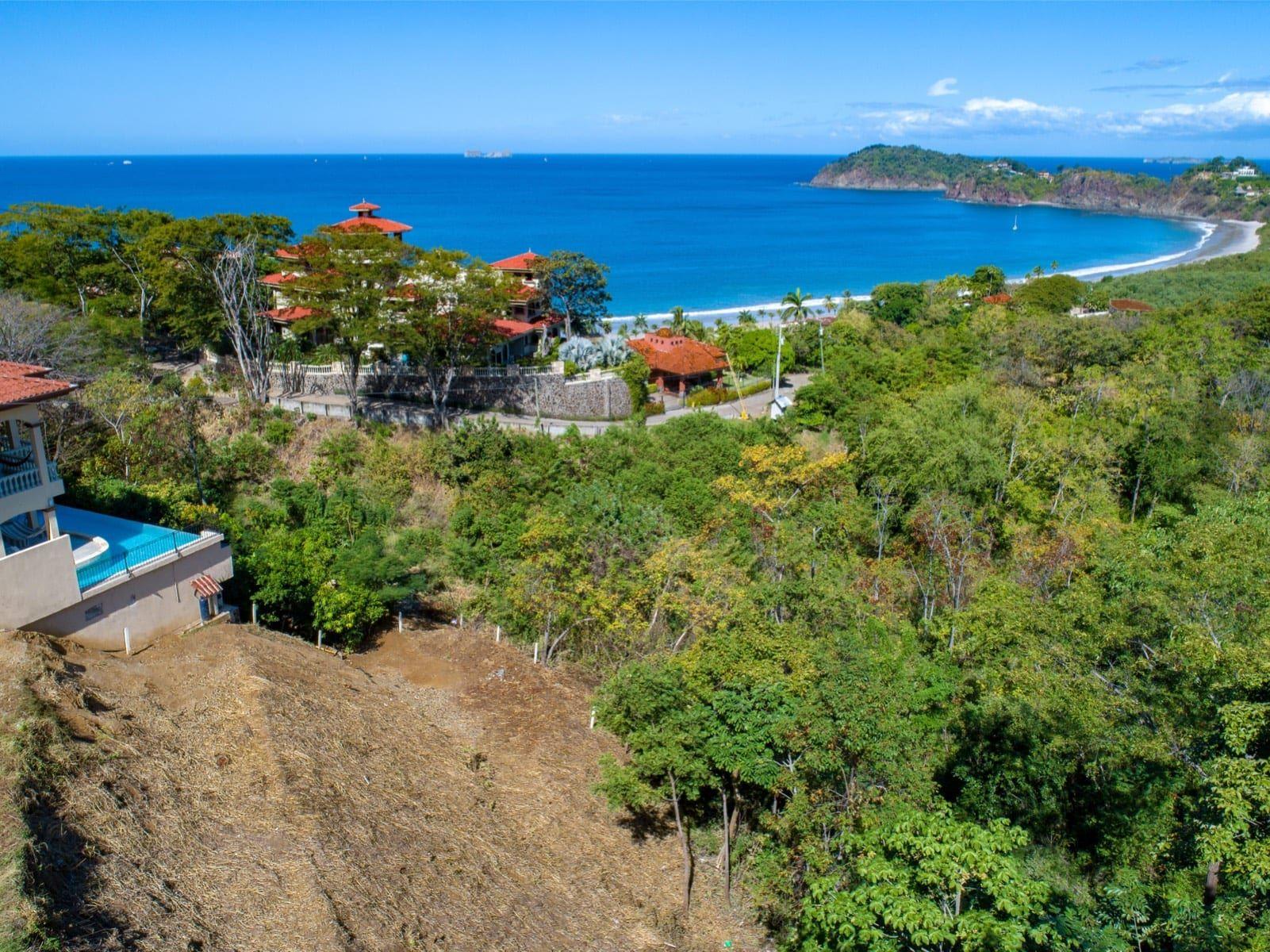 Just Reduced! | Oceanview ridge lot in Playa Flamingo