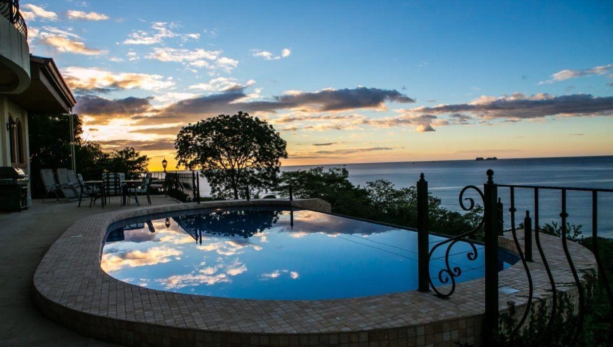 Ocean Views and Deep Blue Hues-Mountain Home in Playa Flamingo - 12